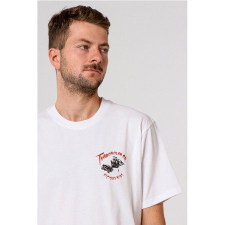 KOSZULKA TURBOKOLOR T-SHIRT WAVE WHITE