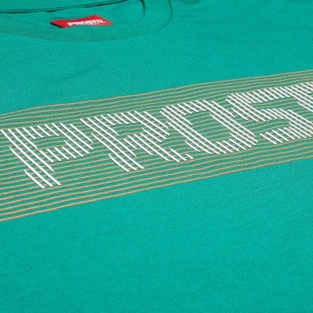 T-SHIRT CROSSLINE DARK GREEN