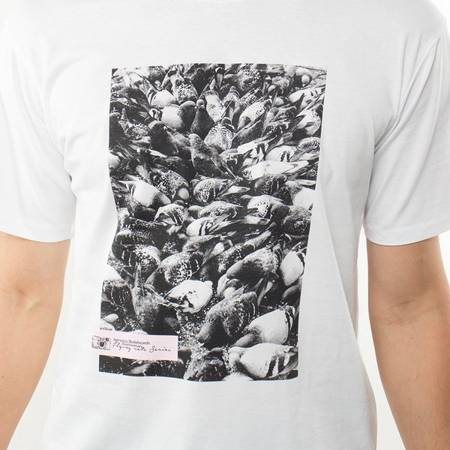 T-SHIRT NERVOUS FLYING RATS WHITE