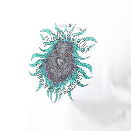 T-SHIRT NERVOUS LIONDOVE WHITE